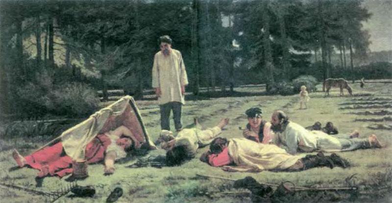Орудия труда русских крестьян