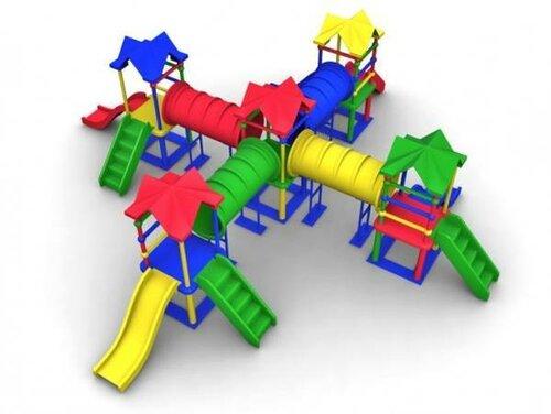 Детское игровое пространство уличного назначения