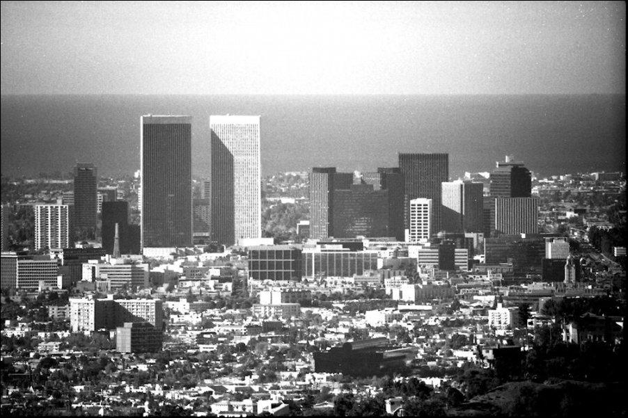Лос анджелес сша 1970 и 2014 год