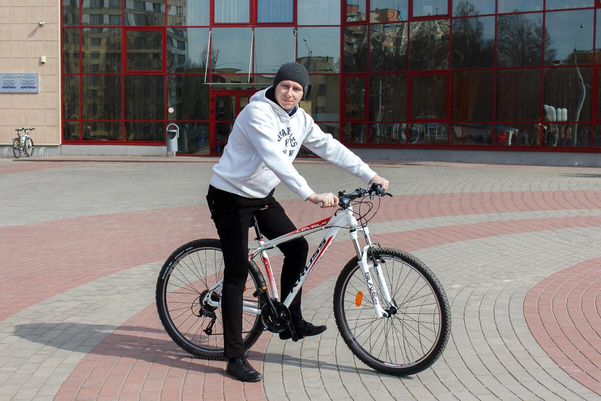 я и велосипед