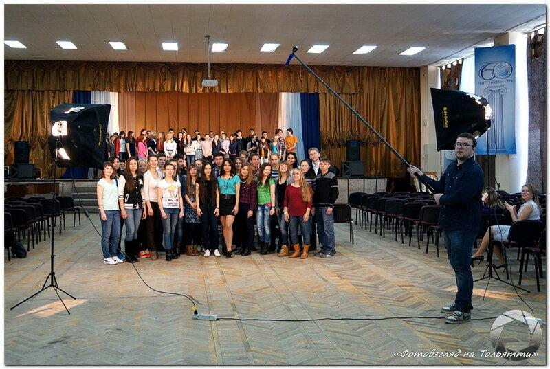 Съемка промо Студвесны-2014 в Тольятти