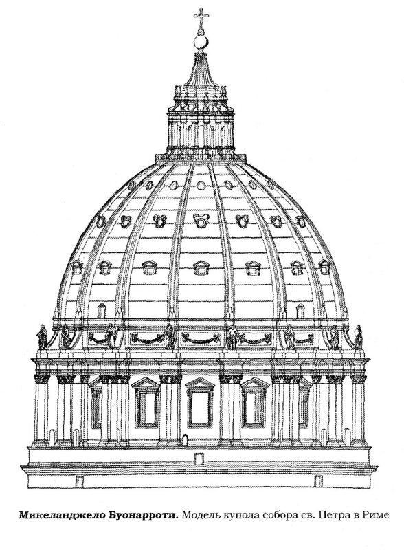 Собор св. Петра в Риме, проект