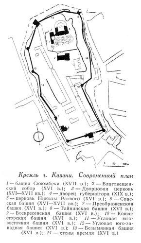 Кремль города Казани