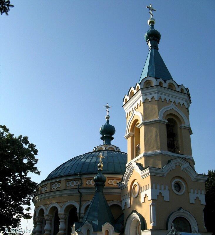 Унгены - храм Александра Невского (11).JPG