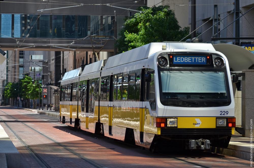 Скоростной трамвай Далласа