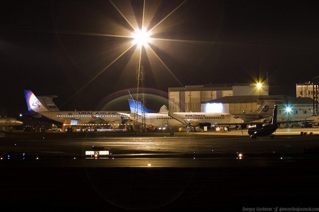 Lufthansa Cargo прибыл in Красноярск!
