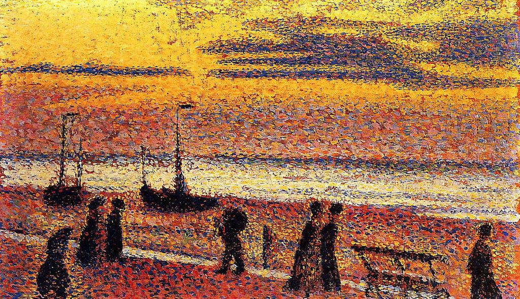 Georges Lemmen - Heyst No. 3 - High Tide, 1891.jpeg