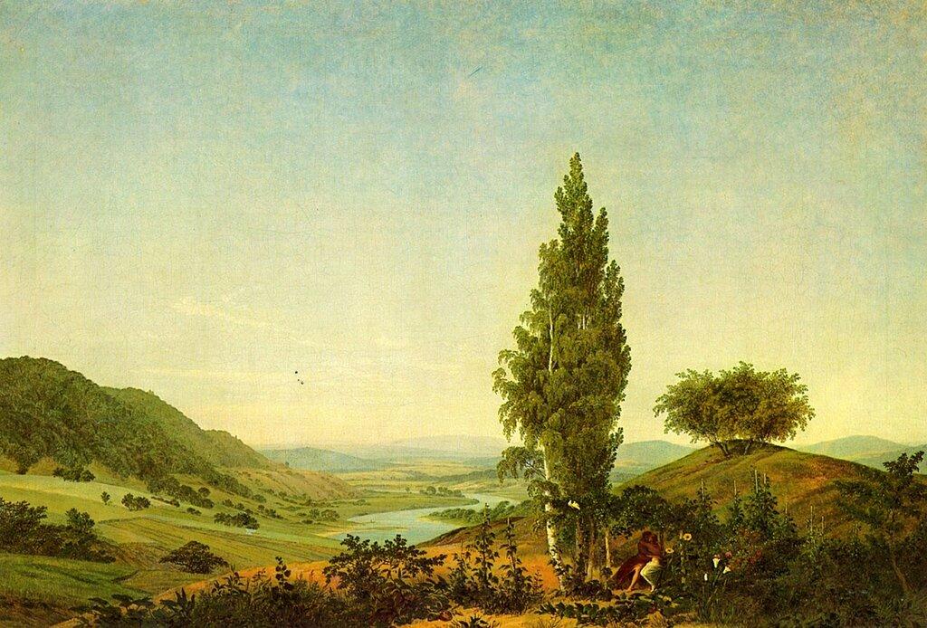 The Summer (Der Sommer (Landschaft mit Liebespaar)) (1807) Neue Pinakothek, Munich.JPG