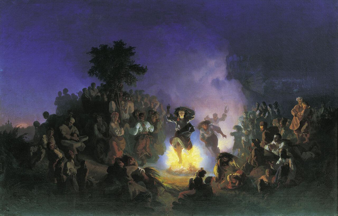 Ночь на Ивана-Купалу. Холст, масло.jpg