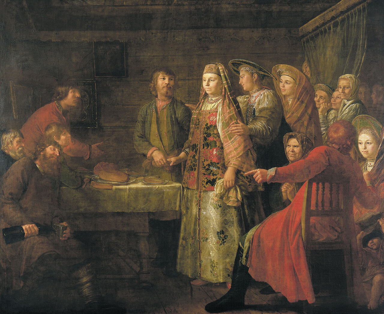 Празднество свадебного договора. 1777.jpg