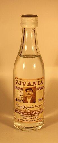 Настойка Kkoulas Zivania Traditional Dry Aperitif