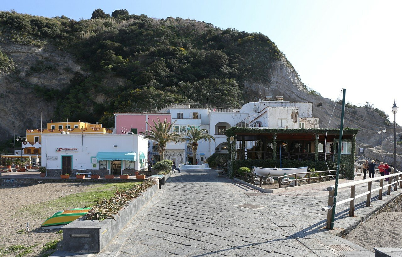 Ischia, the Rock of Sant'Angelo