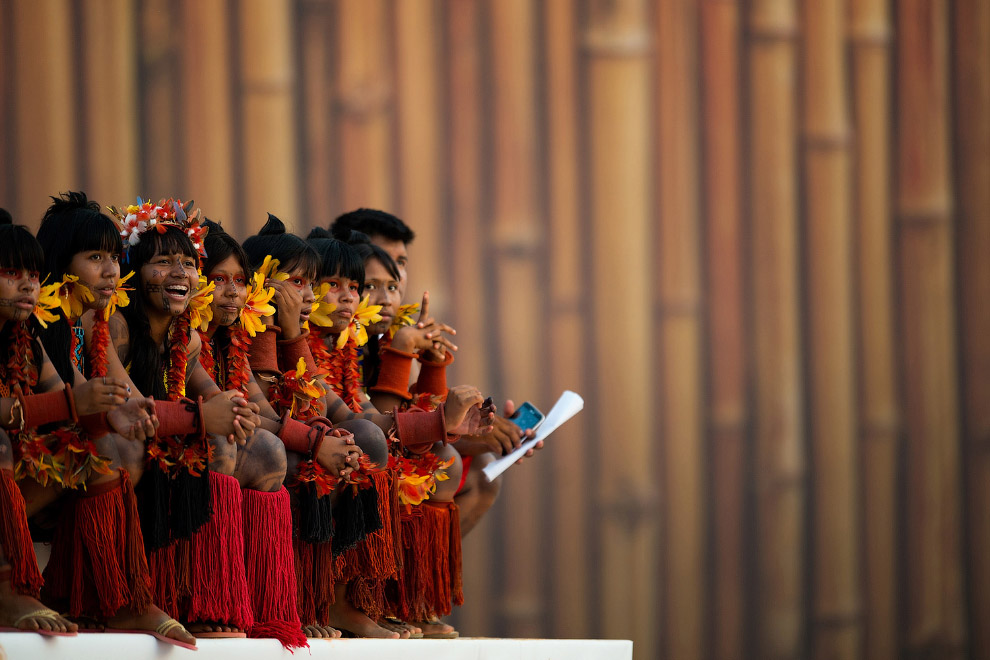 25. Соревнования по стрельбе из лука, 26 октября 2015. Так проходят 1-е Всемирные Игры коренных наро