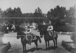 Кирасиры в исторических формах XIX в. времени Александра II.