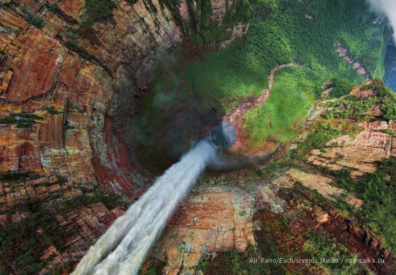 воздушные панорамные фотографии со всего мира