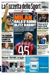 Журнал La Gazzetta dello Sport  (21 Agosto 2014)
