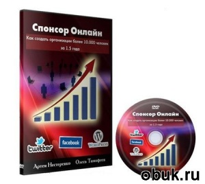 Книга А.Нестеренко, О.Тимофеев: Спонсор Онлайн (2011г.)