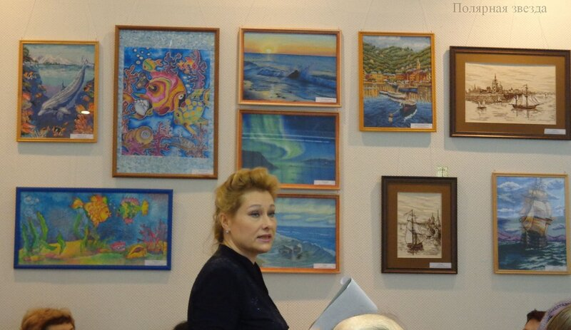"""Выставка """"Море-дизайн"""" в Оленегорском музее"""