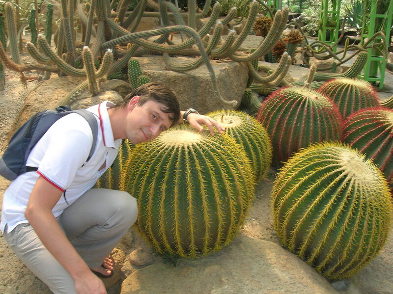 Тропический сад Нонг Нуч в Таиланде (Nong Nooch Tropical Garden in Thailand)