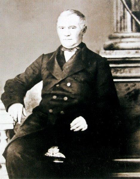 Староста собора Александр Петрович Петров. Фото 1860-х гг.