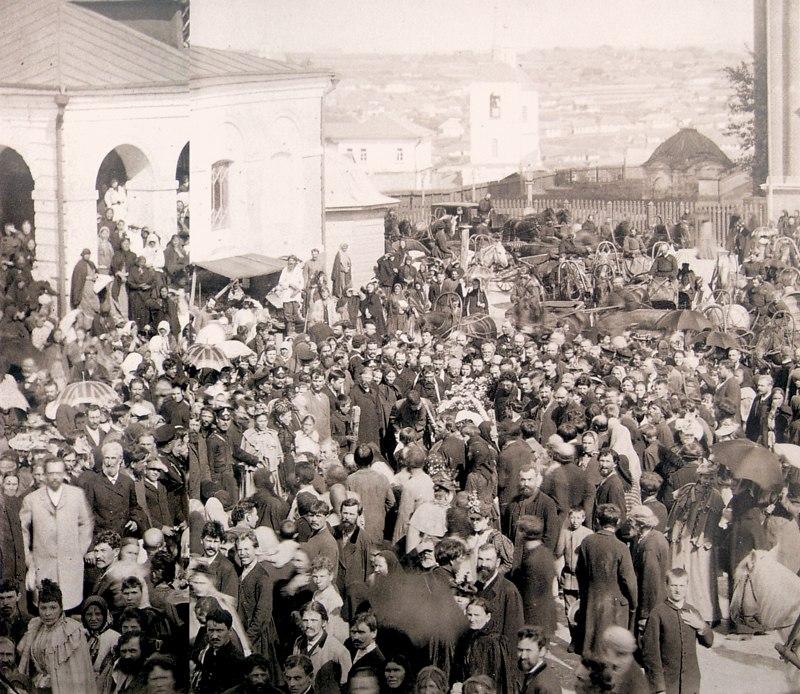 Похороны соборного старосты А.А. Петрова