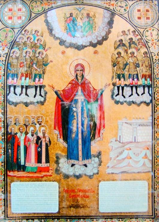 Елецкая икона Божией Матери в Вознесенском соборе