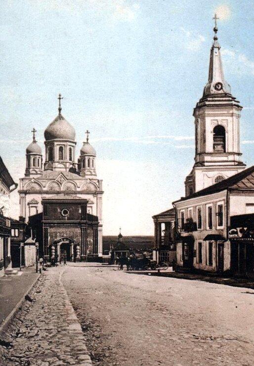 Вознесенский храм и Воскресенский собор