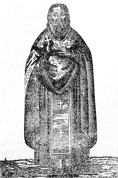 Священник Преображенской церкви Иоанн Жданов