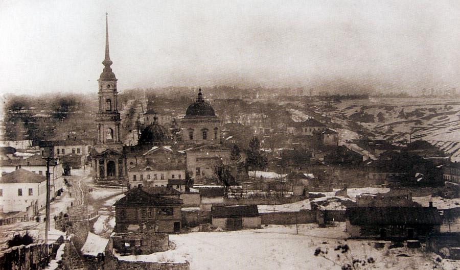 Вид на Владимирскую церковь и Чёрную слободу