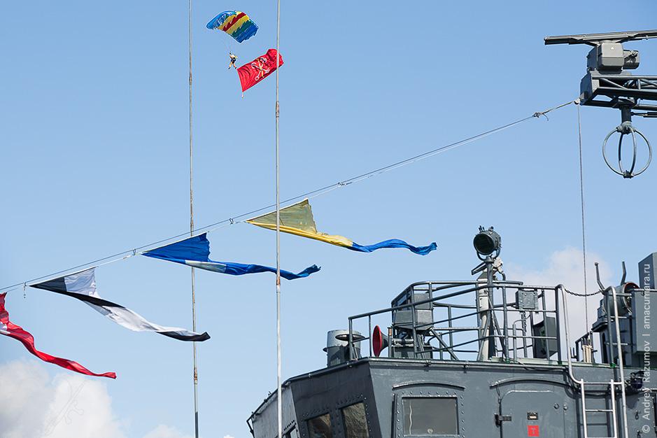 Авиашоу в гавани Ленэкспо Русские витязи