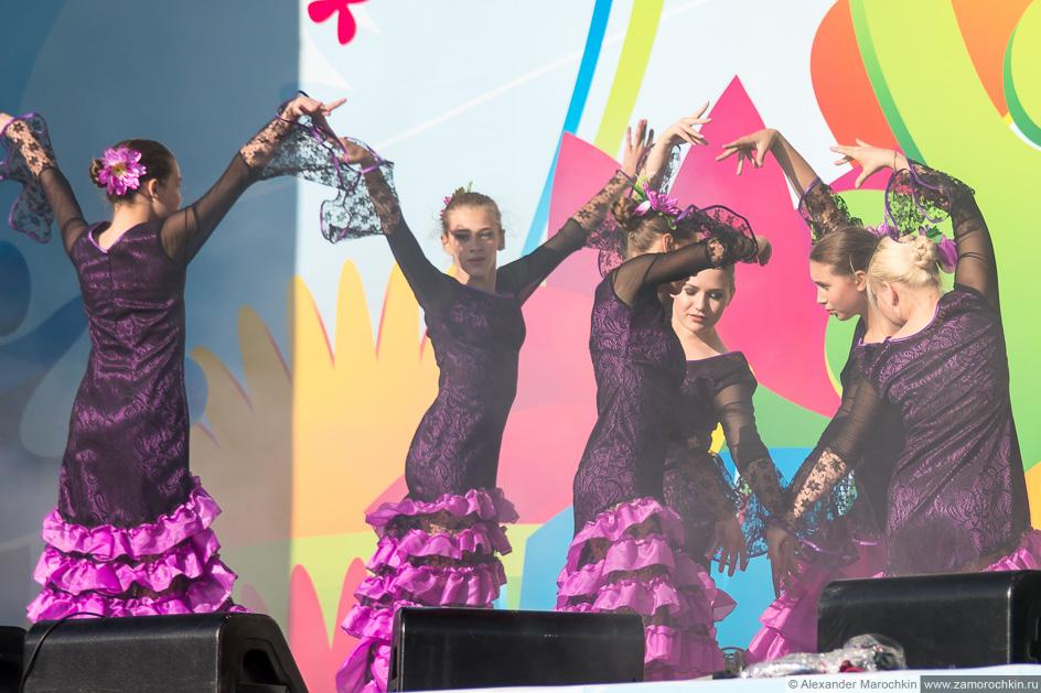 Фламенко на фестивале FIFA Fan Fest в Саранске