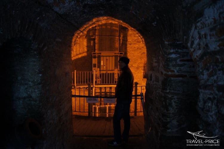 башня крепости Румели Хисари