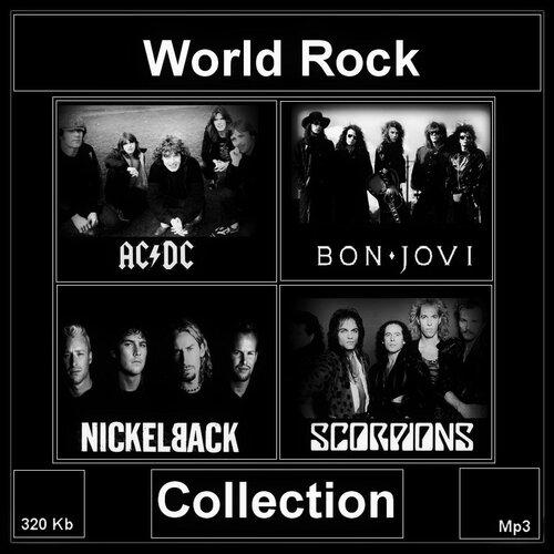 AC/DC, Bon Jovi, Nickelback, Scorpions - AC/DC, Bon Jovi, Nickelback, Scorpions - World Rock Collection (2014) MP3