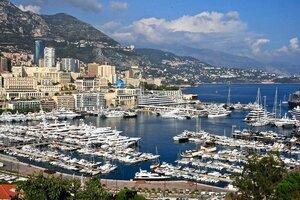 Порт княжества Монако.