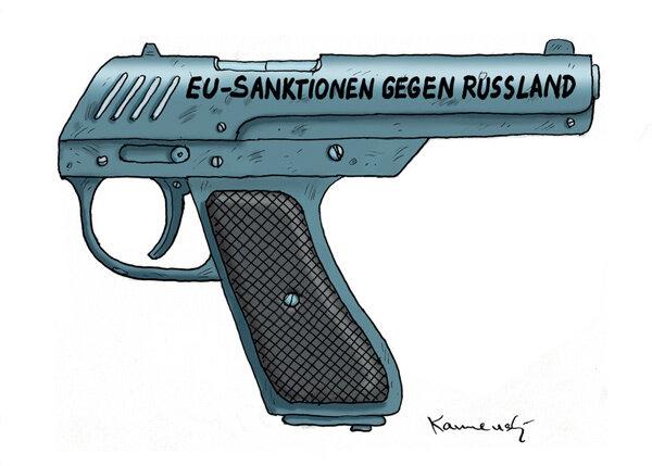 EU Santionen gegen Russland © Marian Kamensky