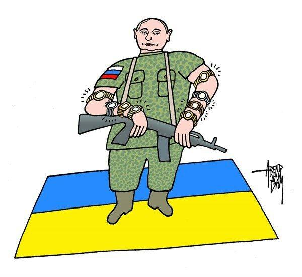 Putin raiderpolitics © Arend van Dam