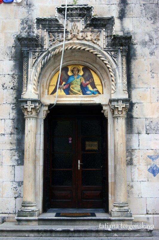 Двери церкви Св. Михаила