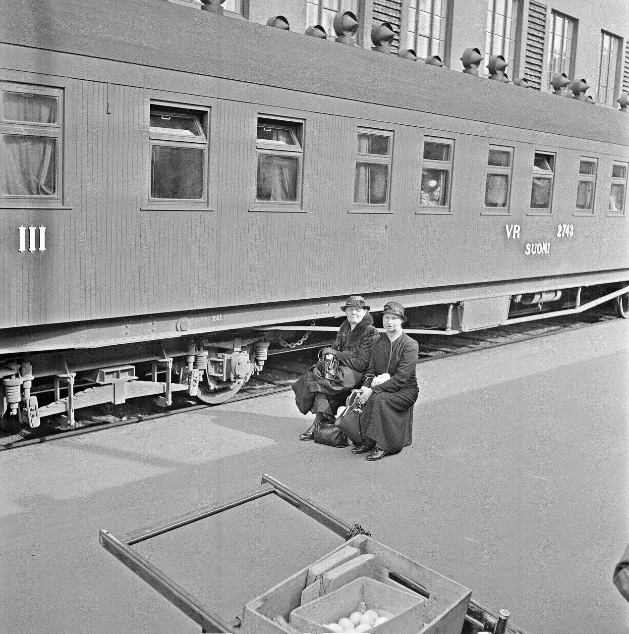 1941. 20 июня. Центральный вокзал. На перроне