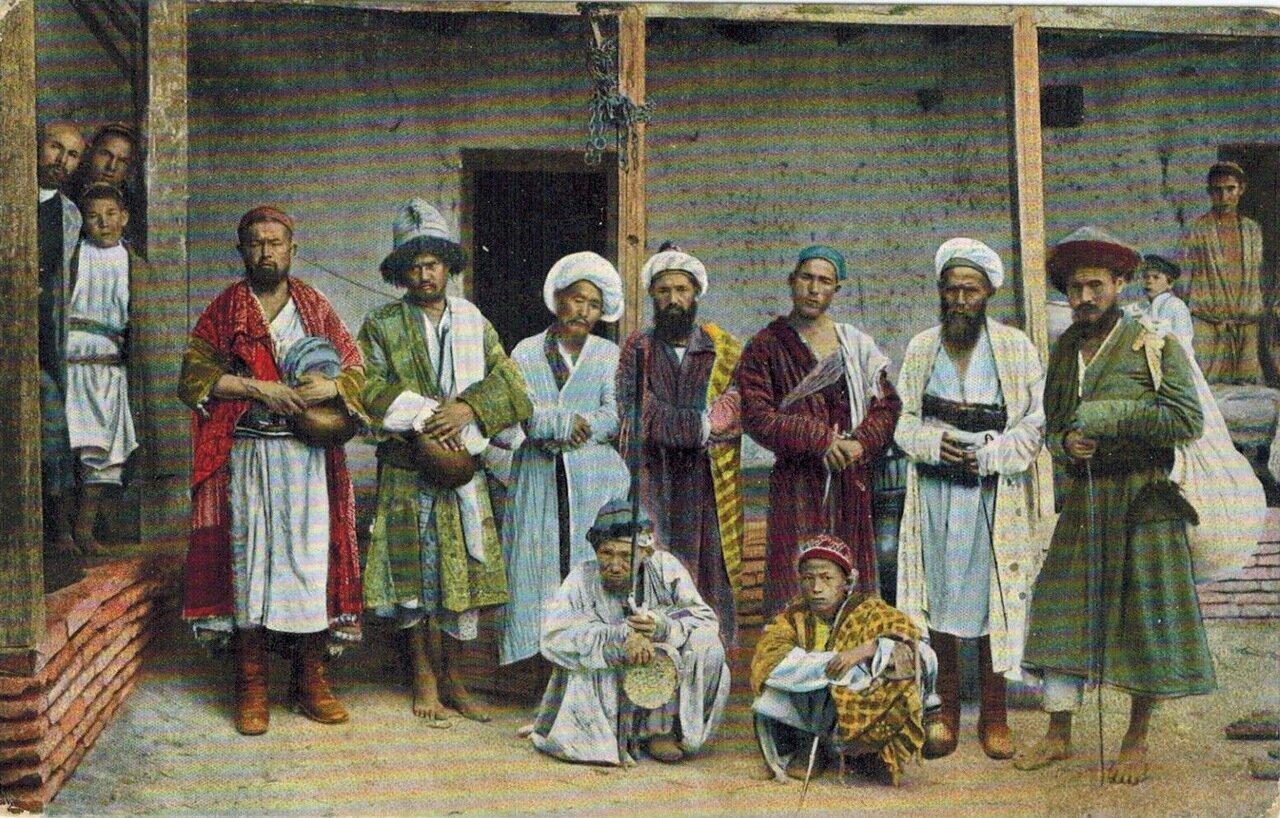 Типы Средне-Азиатских владений. Каландары, бродячие нищие