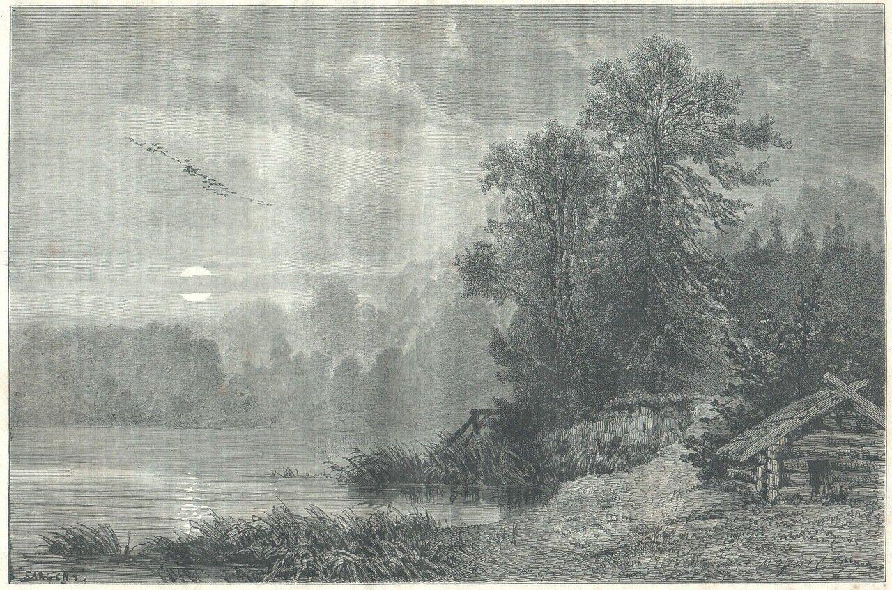 1872. В Онежском заливе