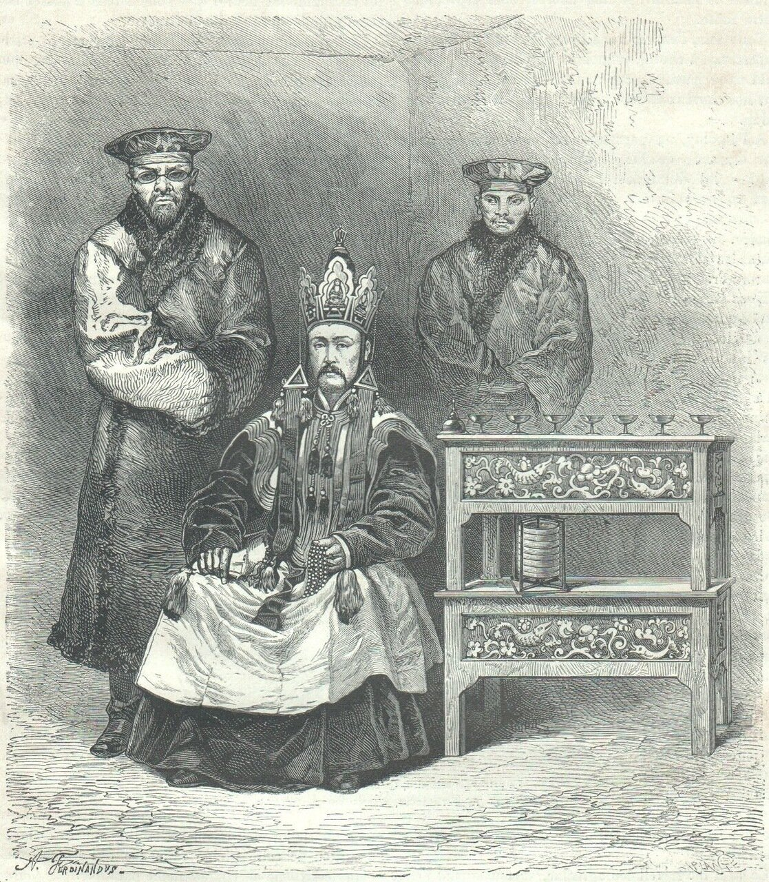 1878. Барахчайские священники с помощниками