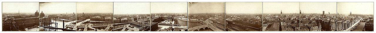 1900. Панорама Берлина