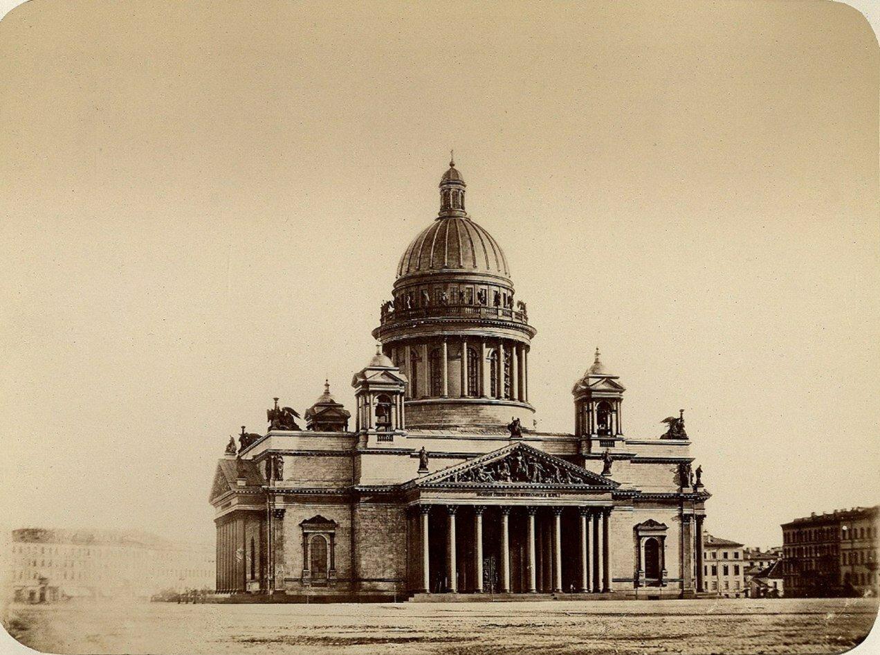 1860-е. Исаакиевский собор