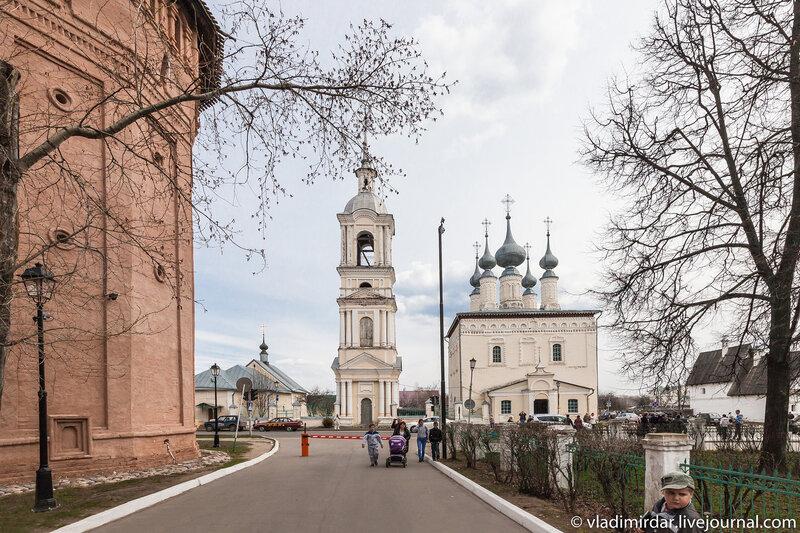 Окрестности Спасо-Евфимиева монастыря в Суздале