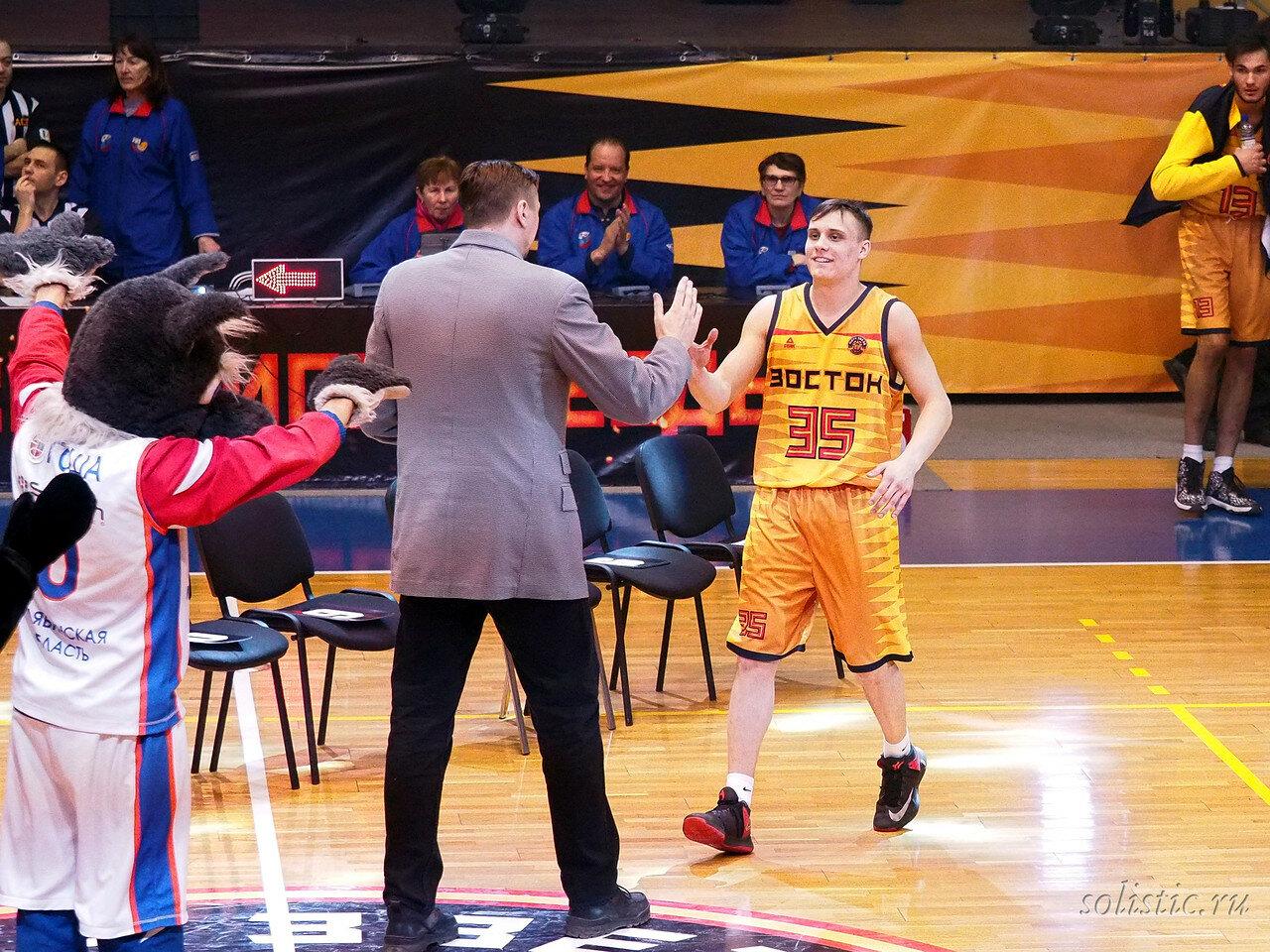127 Матч звезд АСБ 2018 (ассоциации студенческого баскетбола)