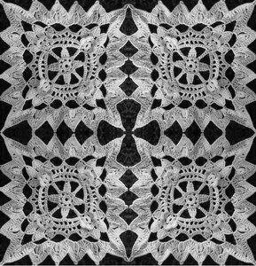 Ажурный мотив 5 (полотно)