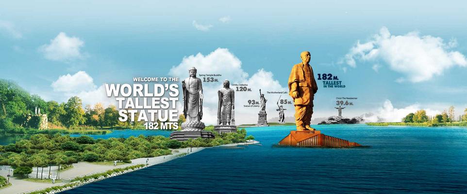 Самую высокую статую в мире строят в Индии