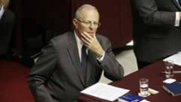 Президент Перу Педро Пабло Кучинский подал в отставку из-за коррупционного