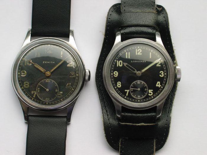В качестве трофеев советским воинам попадали часы как немецкого производства, так и швейцарского про