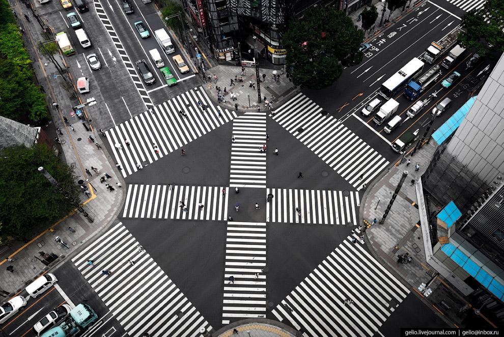 9.  Район Гиндза (Ginza) . Центр торговли и культуры Токио. Одним из символов столицы